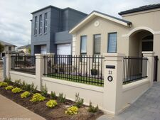 Caststone Fence 340 Plain With Quoin Cap 400 Plate27