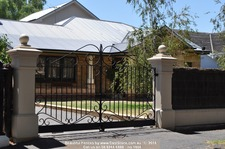 1604 Big pillars with Ball on topBlog Heritage Fence Ideas - Decorative Extras for Heritage Homes